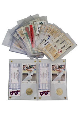 Mark McGwire Home Run Game Tickets Including Five From 70th HR Game (27)