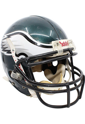 Circa 1997 Irving Fryar Philadelphia Eagles Game-Used Helmet
