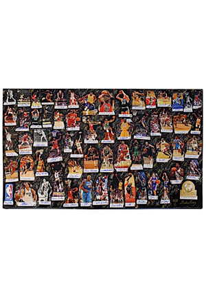 "2017 NBA Legends Of Basketball ""We Made This Game"" Multi-Signed LE Lithographs (2)(JSA • 1/1 • UDA Holograms • Artist LOAs)"