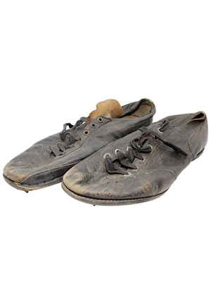 1940s Mel Ott New York Giants Game-Used Cleats (Ott Family LOA)