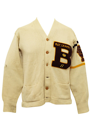1941 Frank Maznicki Boston College Eagles Player-Worn Sugar Bowl Champions Sweater