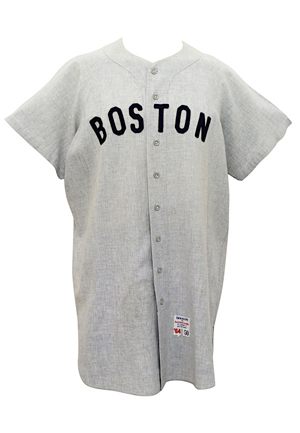 1964 Dick Radatz Boston Red Sox Game-Used Road Flannel Jersey (Graded 9 • Sourced From Red Sox Scout • First One Ever Known)
