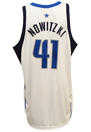 2004-05 Dirk Nowitzki Dallas Mavericks Game-Used Jersey