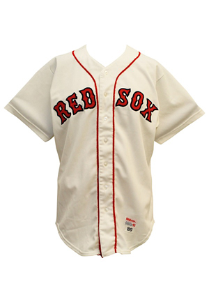 1986 Don Baylor Boston Red Sox Game-Used Home Jersey (Photo-Matched & Graded 10 • World Series Season)