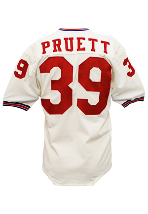 1971 Perry Pruett New England Patriots Game-Used Jersey (Rare Style)