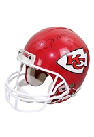 Joe Montana Kansas City Chiefs Autographed Replica Helmet (JSA)