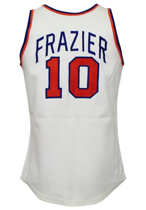 Early 1970s Walt Frazier New York Knicks Game-Used Jersey (Graded 10 • Sourced From Trainer)