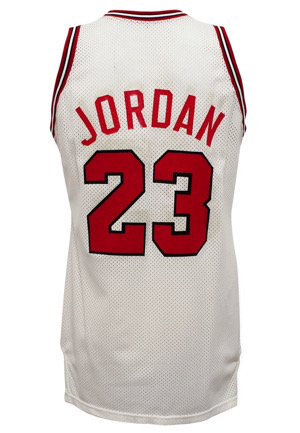 1987-88 Michael Jordan Chicago Bulls Game-Used Home Uniform (2)(MVP Season)