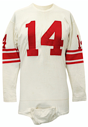 Circa 1962 Y.A. Tittle New York Giants Game-Used Jersey (Graded 10)
