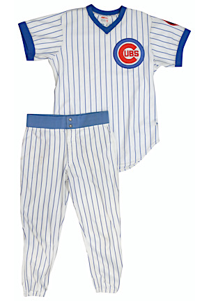 1984 Rick Sutcliffe Chicago Cubs Game-Used Home Uniform (2)(Cy Young Season)
