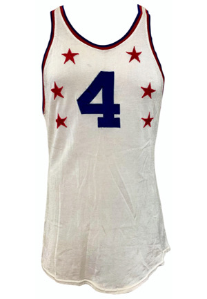 1961 Dolph Schayes Game-Used NBA All-Star Jersey (Graded 10 • Schayes Family LOA)