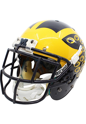 2015 Terry Richardson Michigan Wolverines Game-Used Citrus Bowl Helmet