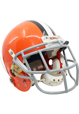 2006 Braylon Edwards Cleveland Browns Game-Used Helmet