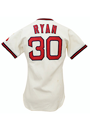1973 Nolan Ryan California Angels Game-Used Home Jersey (Graded 9+ • Single Season Strikeout Record & 2x No-Hitter Season)