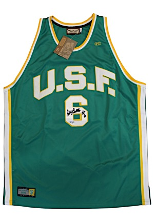 Bill Russell University Of San Francisco Single-Signed Replica Jersey (JSA)
