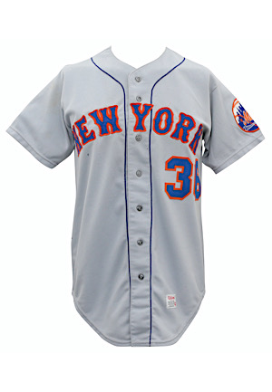 1972 Jerry Koosman New York Mets Game-Used Road Jersey