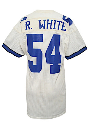 Late 1980s Randy White Dallas Cowboys Game-Used Jersey (Repairs)