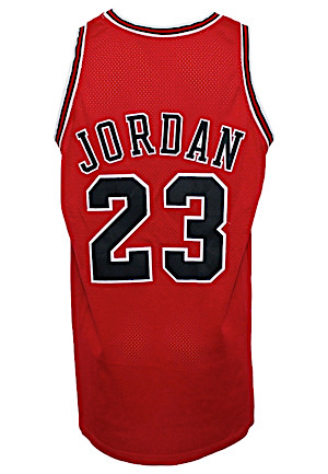 1997-98 Michael Jordan Chicago Bulls Game-Used Road Jersey (Championship & MVP Season)