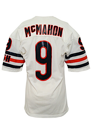 Mid 1980s Jim McMahon Chicago Bears Game-Used Road Jersey