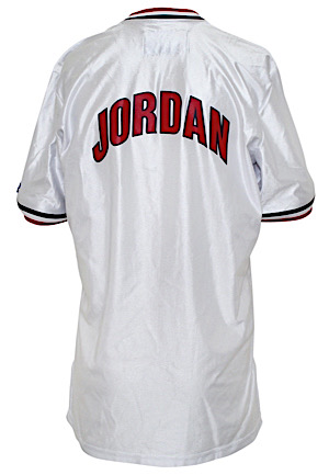 "1992 Michael Jordan USA Olympic Basketball ""Dream Team"" Player-Worn Shooting Shirt (Only One Known)"