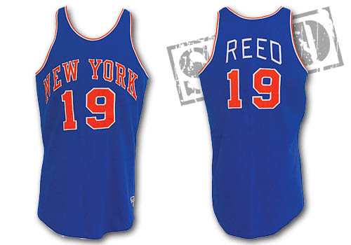 sports shoes 1ad14 dcb55 Sold for: $70,744 Circa 1970 Willis Reed New York Knicks ...